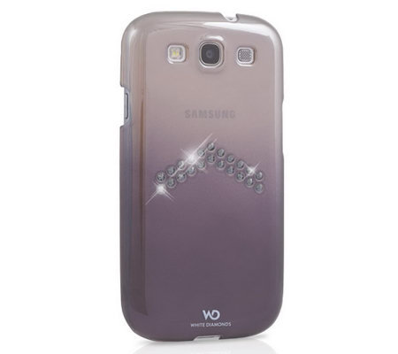 White Diamonds Arrow Case for Samsung S3