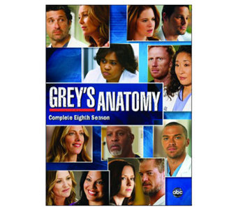 Grey's Anatomy Season 8 Six-Disc Set DVD - E263605