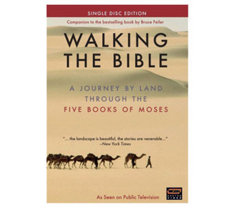 Walking the Bible DVD - E265505