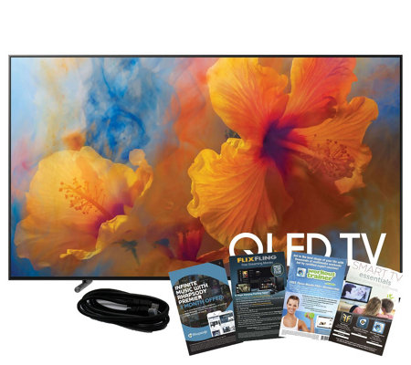 "Samsung 75"" QLED HDR Elite Ultra HDTV with HDMIand App Pack"