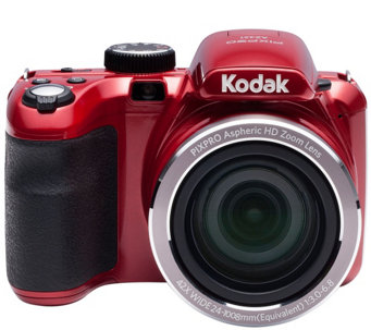 Kodak PIXPRO AZ421 16MP 42X Zoom Digital Camera w/ 8GB SD Card - E229606