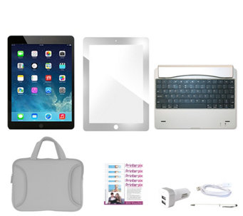 Apple iPad Mini 2 Wi-Fi 32GB with Keyboard, Case & Screen Sleeve & More - E230006