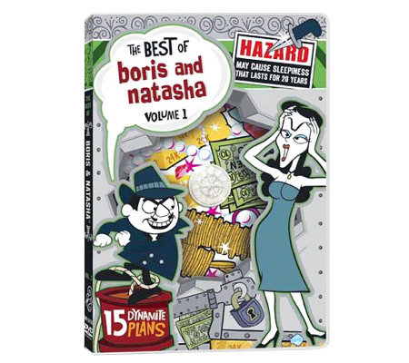The Best of Boris & Natasha: Volume 1 DVD