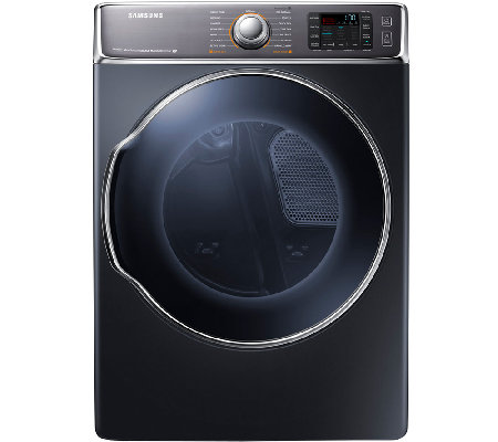 Samsung 9.5 Cubic Foot Electric Dryer with DualHeaters - Onyx
