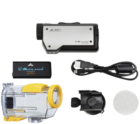 Midland XTC HD 720p Wearable Action VideoCamera w/ Case