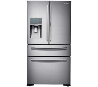 Samsung 22 Cu. Ft. French Door Refrigerator - Stainless Steel - E288706