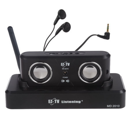 EZ TV Listening Wireless Digital Acoustic Speaker System