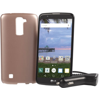 "LG Premier Tracfone 5.3"" Smartphone w/ 1350 Min, Text and Data - E229607"