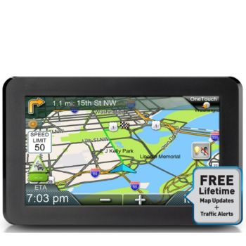Magellan 7 RoadMate GPS w/ Lifetime Map Updates and Traffic Alerts