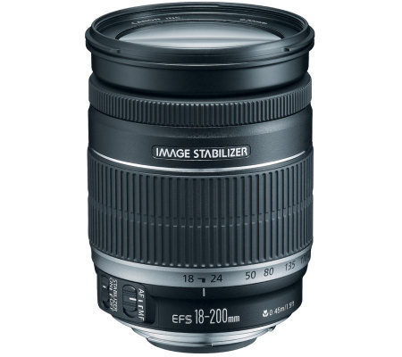 Canon EF-S 18-200mm f/3.5-5.6 IS Telephoto Zoom Lens