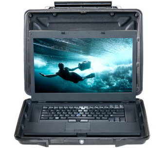 "Pelican Watertight Hardback Case for Laptops upto 15"" - E259307"