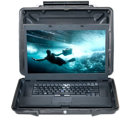 Pelican Watertight Hardback Case for Laptops upto 15""