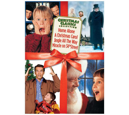 Christmas Classics Box Set 4-Disc DVD Set