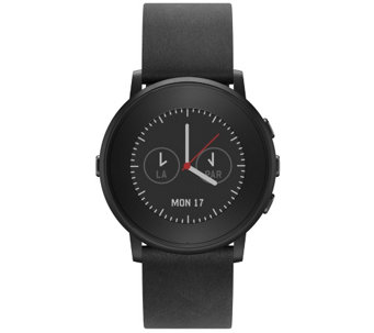Pebble Time Round Smartwatch with LED Backlight - E286107