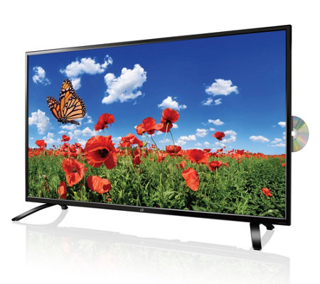"GPX 55"" 4K Ultra HDTV with DVD Player"