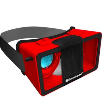 SmartTheater Virtual Reality Headset Goggles with Storage Case