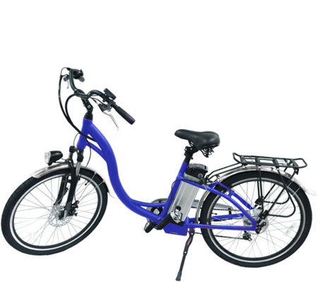 hover way city cruiser electric e bike w pedal assist 6. Black Bedroom Furniture Sets. Home Design Ideas