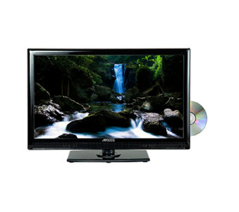 "Axess 24"" Class LED TV with Built in DVD Player - E277808"