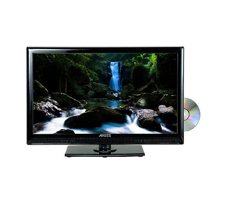 "Axess 24"" Class LED TV with Built in DVD Player"