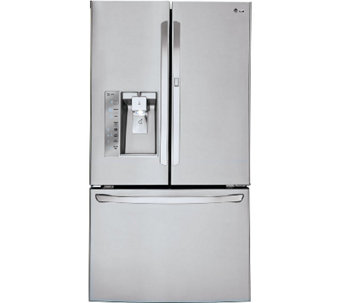 LG 30' French Door Stainless Refrigerator withDoor-in-Door - E285708