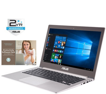 "ASUS 13.3"" Zenbook Touch Laptop - i7, 12GB, 512GB, Software - E287908"