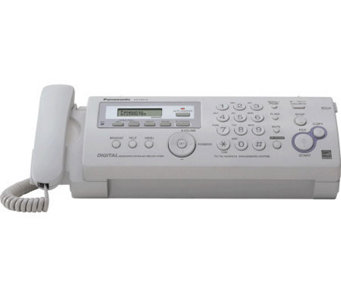 Panasonic Compact Plain Paper Fax/Copier with Answering Syste - E250709