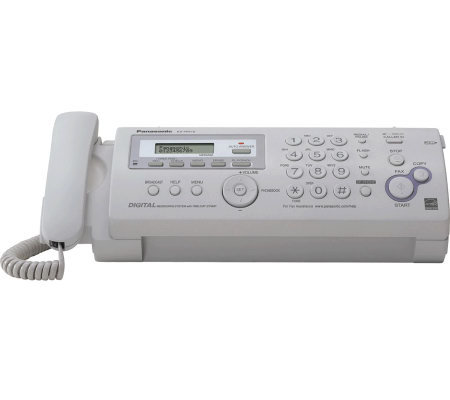 Panasonic Compact Plain Paper Fax/Copier with Answering Syste