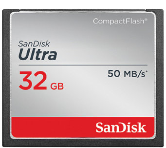 SanDisk 32GB Ultra CompactFlash Memory Card - E284509