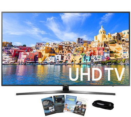 "Samsung 43"" Class LED Ultra HDTV with App Packand HDMI Cable"