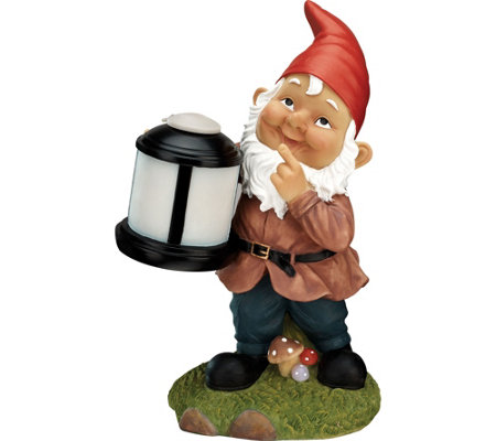 iLive Water-Resistant Gnome Outdoor Speaker