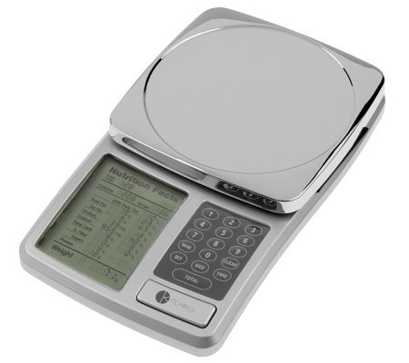 Kitchrics Digital Food Scale with Nutritional Facts Display