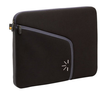 "Case Logic 13.3"" Neoprene Notebook Sleeve- Black - E220610"