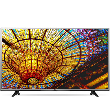 "LG 60"" Ultra High Definition 4K Smart TV with App Package"