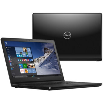 "Dell 15"" Laptop Windows 10 AMD Quad Core 6GB RAM 1TB HDD Lifetime Tech - E229710"