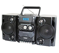 Naxa Portable MP3/CD Player w/ Radio Cassette Player/Recorder - E272310