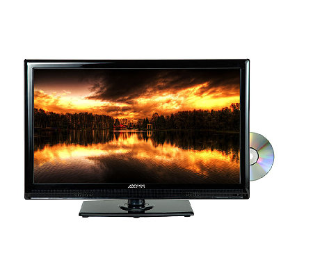 "Axess 22"" Class LED TV with Built in DVD Player"
