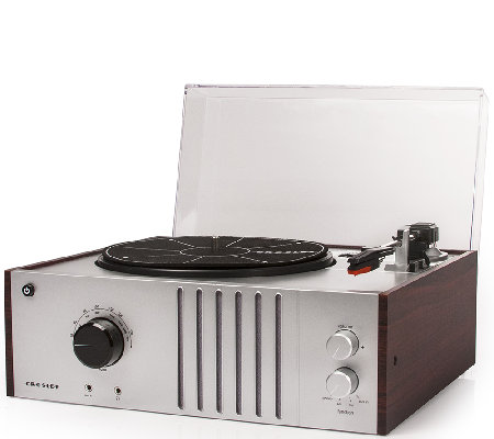 Crosley Player 3-Speed Turntable with Radio andAudio Input