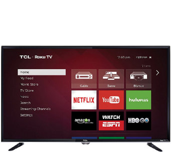 "TCL 40"" Class LED 1080p HDTV with Built-in Wi-Fi, Roku TV - E285210"