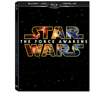 Star Wars: The Force Awakens Blu-Ray/ DVD/Digital HD - E288010