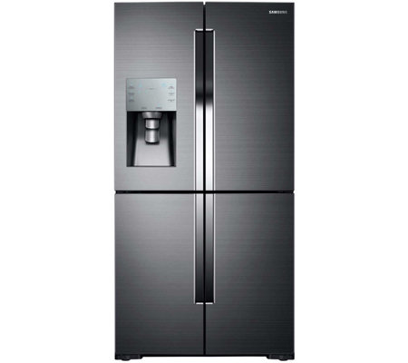 Samsung 28 Cu. Ft. 4-Door Flex Refrigerator - Black Stainless