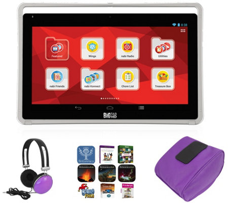 "Nabi 19.5"" Big Tab 16GB with Software, Bean Bag& Headphones"