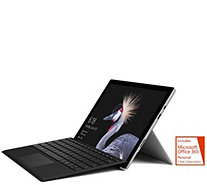 Microsoft Surface Pro i5 4GB 128GB w/ Black Keyboard & Office - E291710