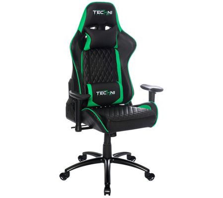 Techni Sport Ultimate Recline Green Computer &Gaming Chair