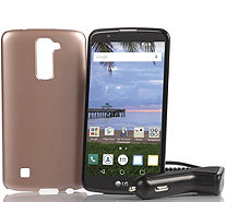 "LG Premier TracFone 5.3"" Smartphone with 1350 Minutes Text & Data - E230711"