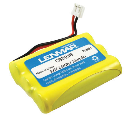 Lenmar CBD958 Cordless Phone Battery - Motorola& GE Phones