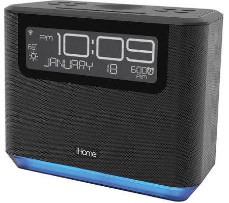 iHome Bedside Stereo for Amazon Echo Dot withAlexa Voice