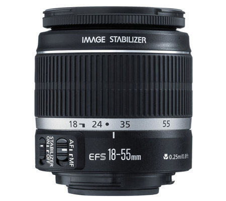 Canon EF-S 18-55mm f/3.5-5.6 IS Standard Zoom Lens