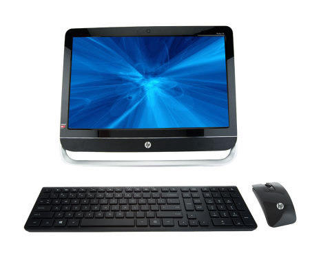 "HP All-in-One 23"" Desktop AMD A6 QuadCore 4GB RAM, 1TB HD w/ Tech Support"