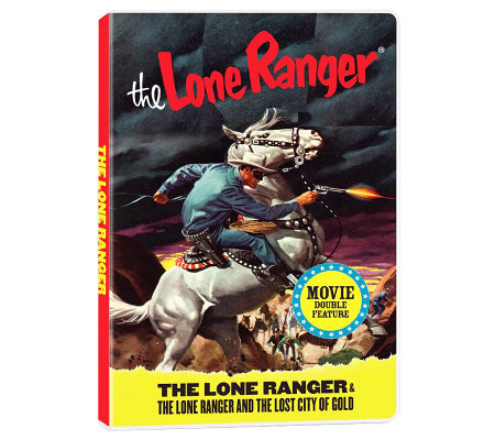 The Lone Ranger Double-Feature DVD