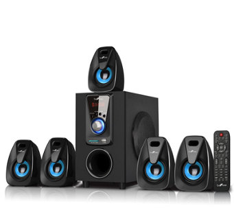 beFree BFS-400 5.1 Surround Sound Bluetooth Speaker System - E287812